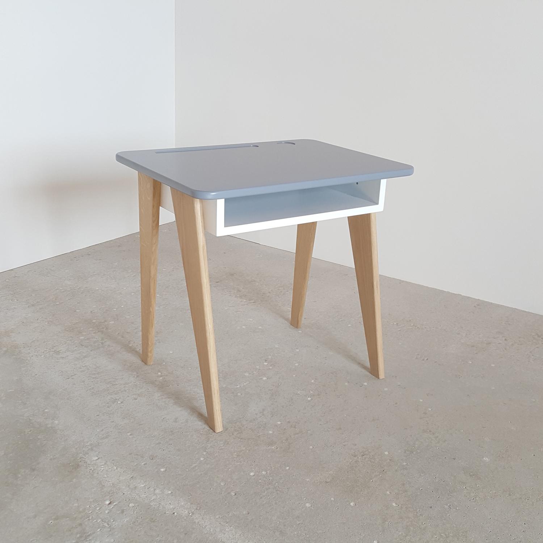 bureau colier gris oli design. Black Bedroom Furniture Sets. Home Design Ideas