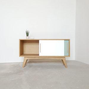 meuble tv personnalisation couleur chene