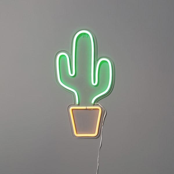 neon cactus skylantern